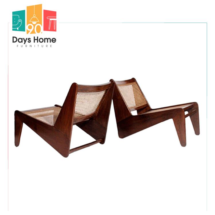كرسي استرخاء من خشب الروطان كانجارو الطبيعي