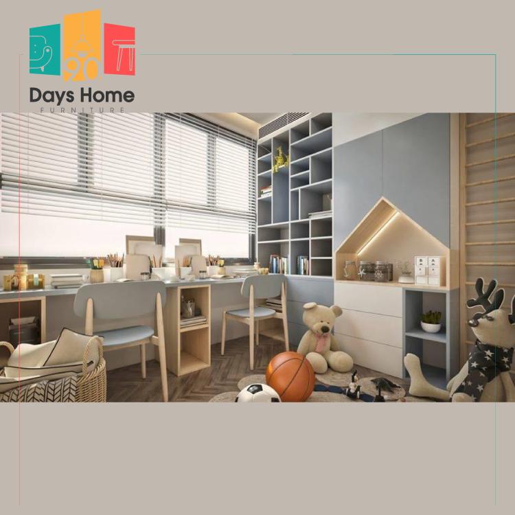 غرفة نوم للأطفال للأولاد والبنات