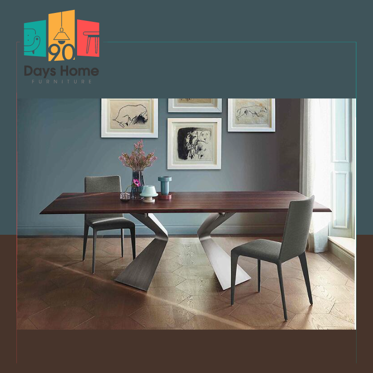 Contemporary style dining table