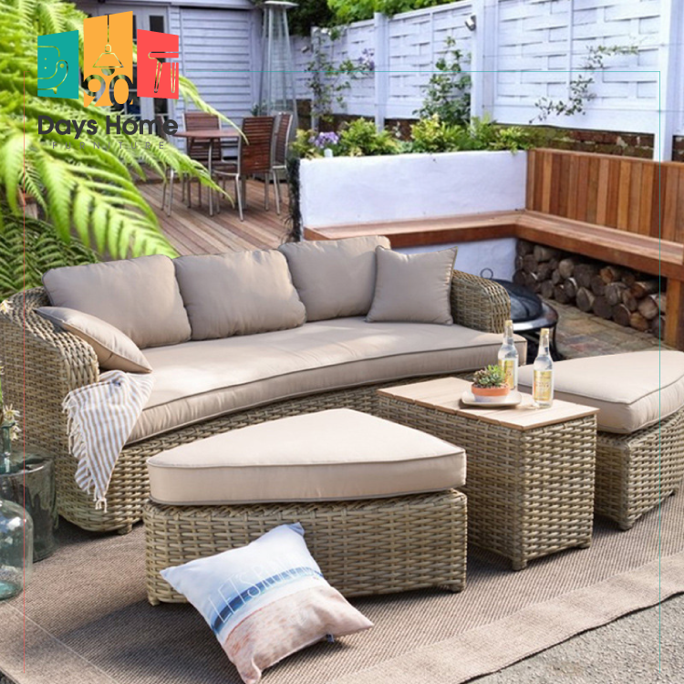 Outdoor furniture, chair and tea table