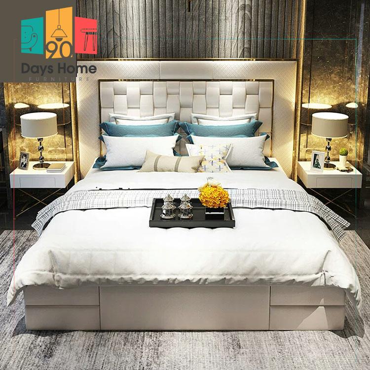 سرير نفرين لغرفة النوم الرئيسية
