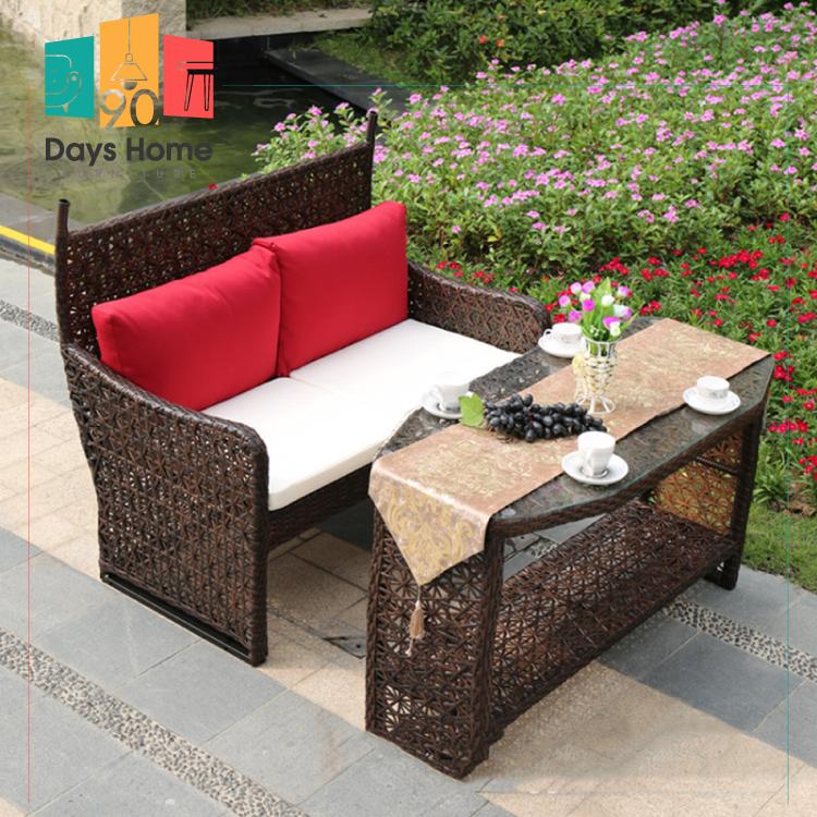 Rattan plait outdoor furniture